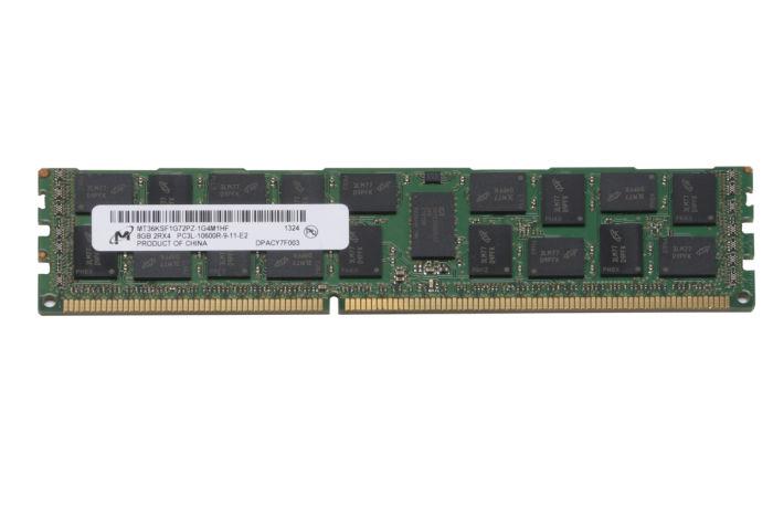 Micron 8GB PC3L-10600R MT36KSF1G72PZ-1G4M1HF Ref