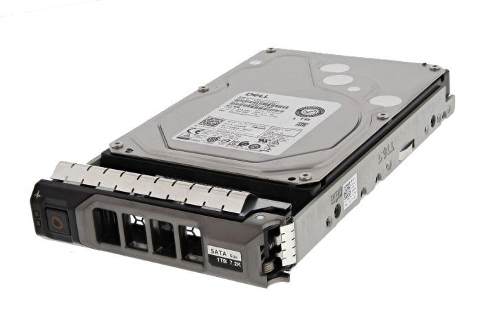 """Dell 1TB SATA 7.2k 3.5"""" 6G Hard Drive K4M5W - New Pull"""