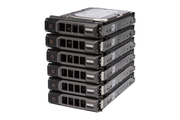 "Dell 600GB SAS 15k 3.5"" 6G SED Hard Drives 5XTFH **6 Pack**"