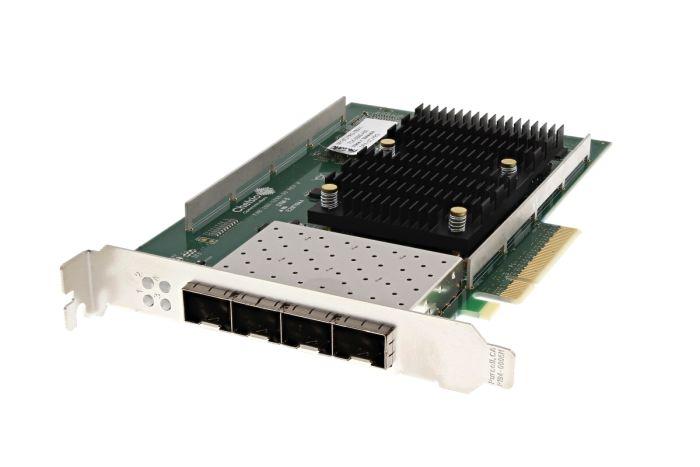 Dell Chelsio T540-CR 10Gb SFP+ Quad Port Full Height Network Card - TJYRG - Ref