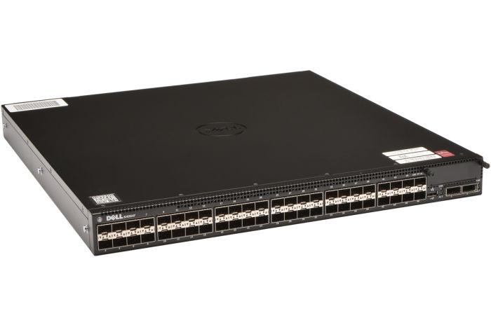 Dell Networking N4064F 48 x 10GbE SFP+ + 2 x QSFP+ Switch w/ 2 x PSU - Ref