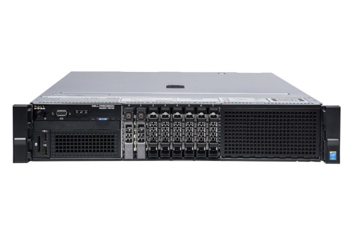 Dell Precision R7910 1x8, 2 x E5-2620v4 2.1GHz Eight-Core, 32GB, 2 x 480GB SSD SATA, iDRAC8 Exp, Radeon WX3100