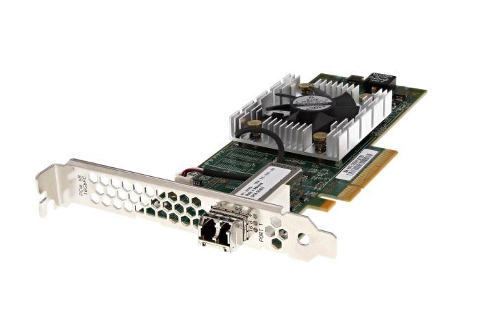Dell QLogic QLE2660-DEL 16Gb FC SFP+ Single Port Full Height HBA 0187V - New