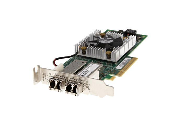 Dell QLogic QLE2662L 16Gb FC SFP+ Dual Port Low Profile HBA - 1KK8W - Ref