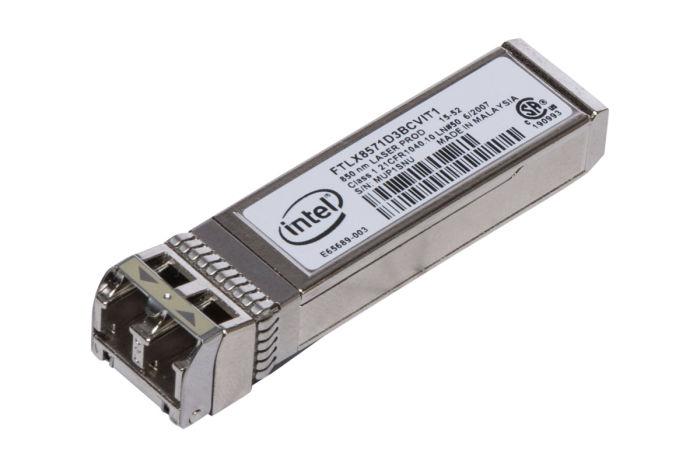 Dell Intel 10Gb SFP+ FC Short Range Transceiver - Y3KJN - AFBR-709DMZ-IN2 - Ref