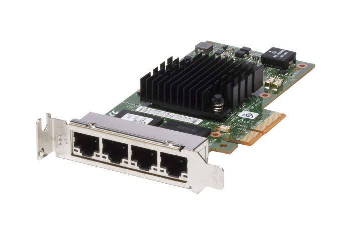 Dell Intel i350-T4 1Gb Quad Port Low Profile Network Card - K9CR1 - Ref