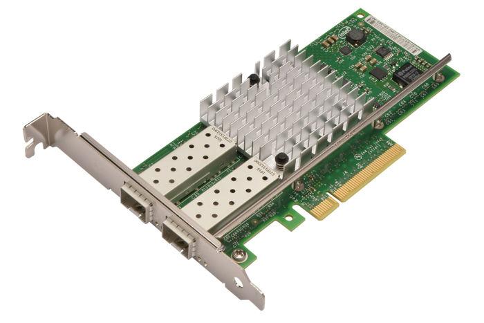 Dell Intel X520-DA2 10Gb Dual Port Full Height Network Card - VFVGR - Ref