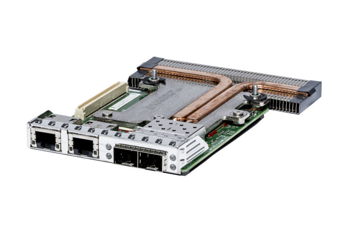 Dell Intel i350&X520 1/10Gb RJ-45/SFP+ Quad Port RNDC - C63DV