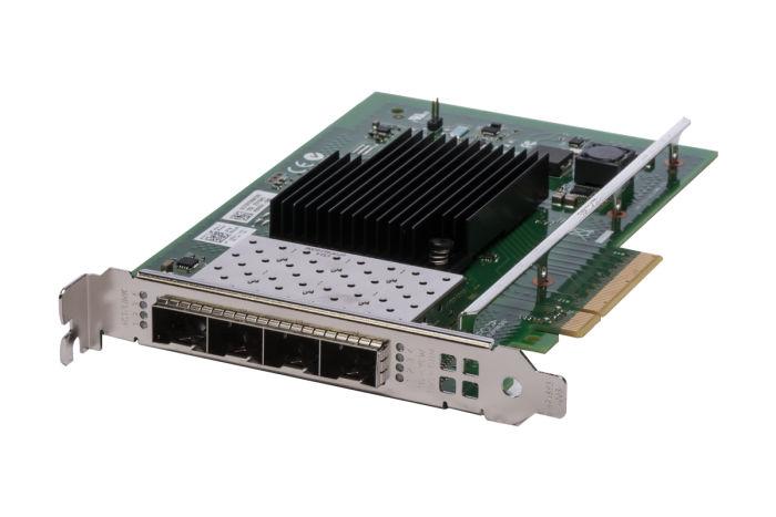 Dell Intel X710-DA4 10Gb SFP+ Quad Port Full Height Network Card - DDJKY - Ref