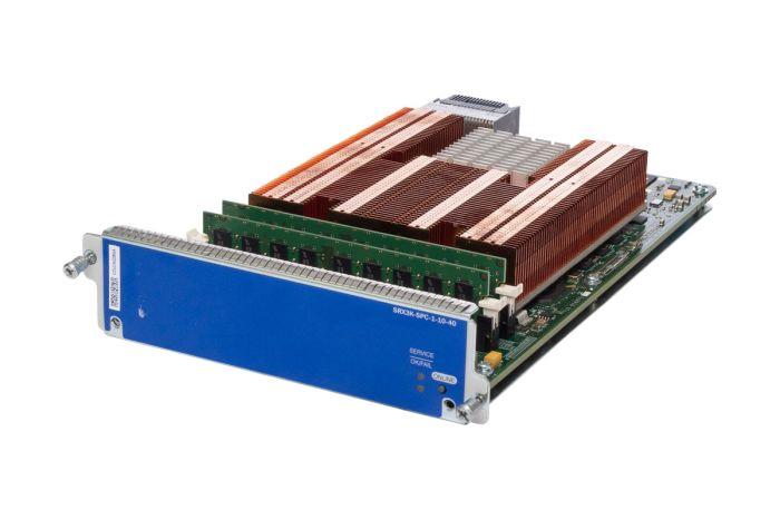 Juniper SRX3K-SPC-1-10-40 Processing Card