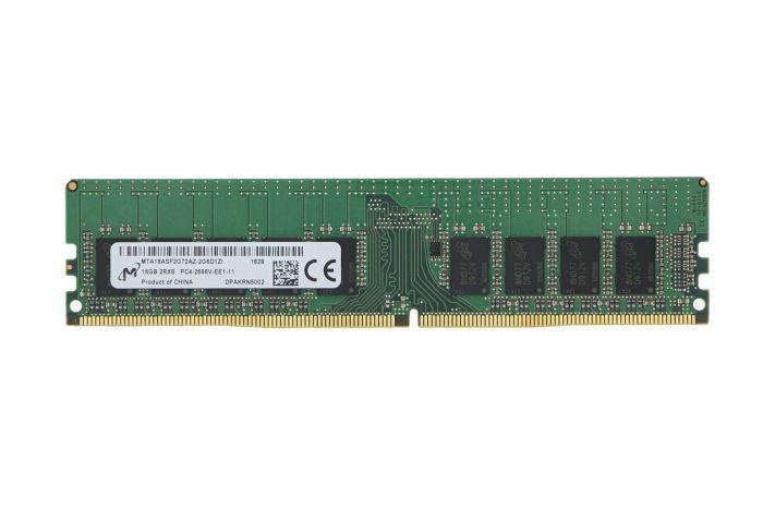 Micron 16GB PC4-2666V-E 2Rx8 ECC MTA18ASF2G72AZ-2G6
