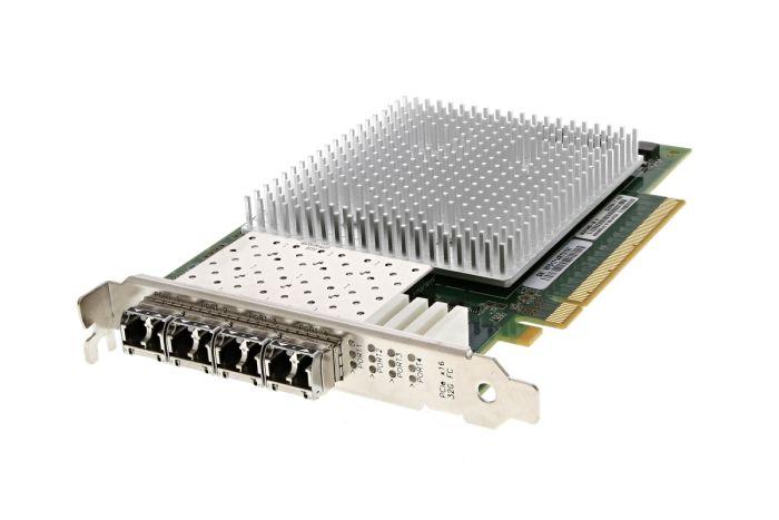 Dell QLogic QLE2764-T-DEL 32Gb Quad Port Full Height HBA - 359FJ - Ref