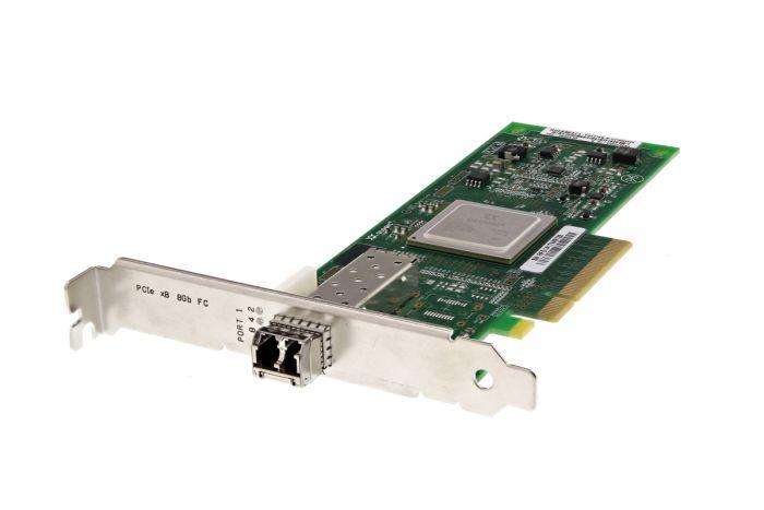 Dell QLogic QLE2560-DEL 8Gb SFP+ Single Port Full Height Fibre HBA - 6H20P - Ref