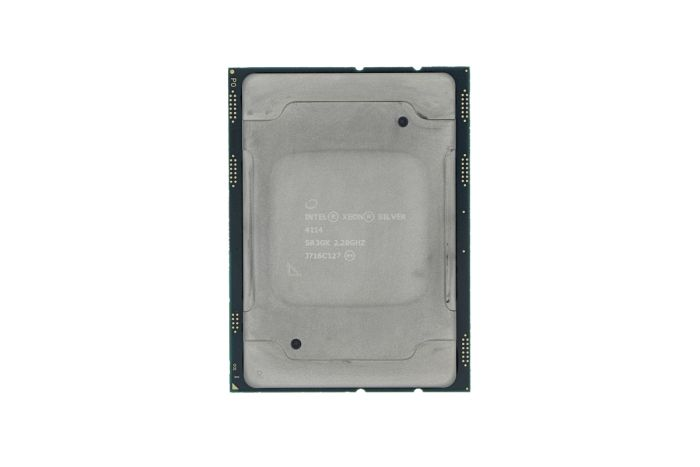Intel Xeon Silver 4114 2.20GHz 10-Core CPU SR3GK