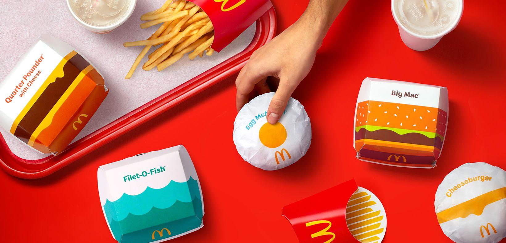 麥當勞新包裝設計