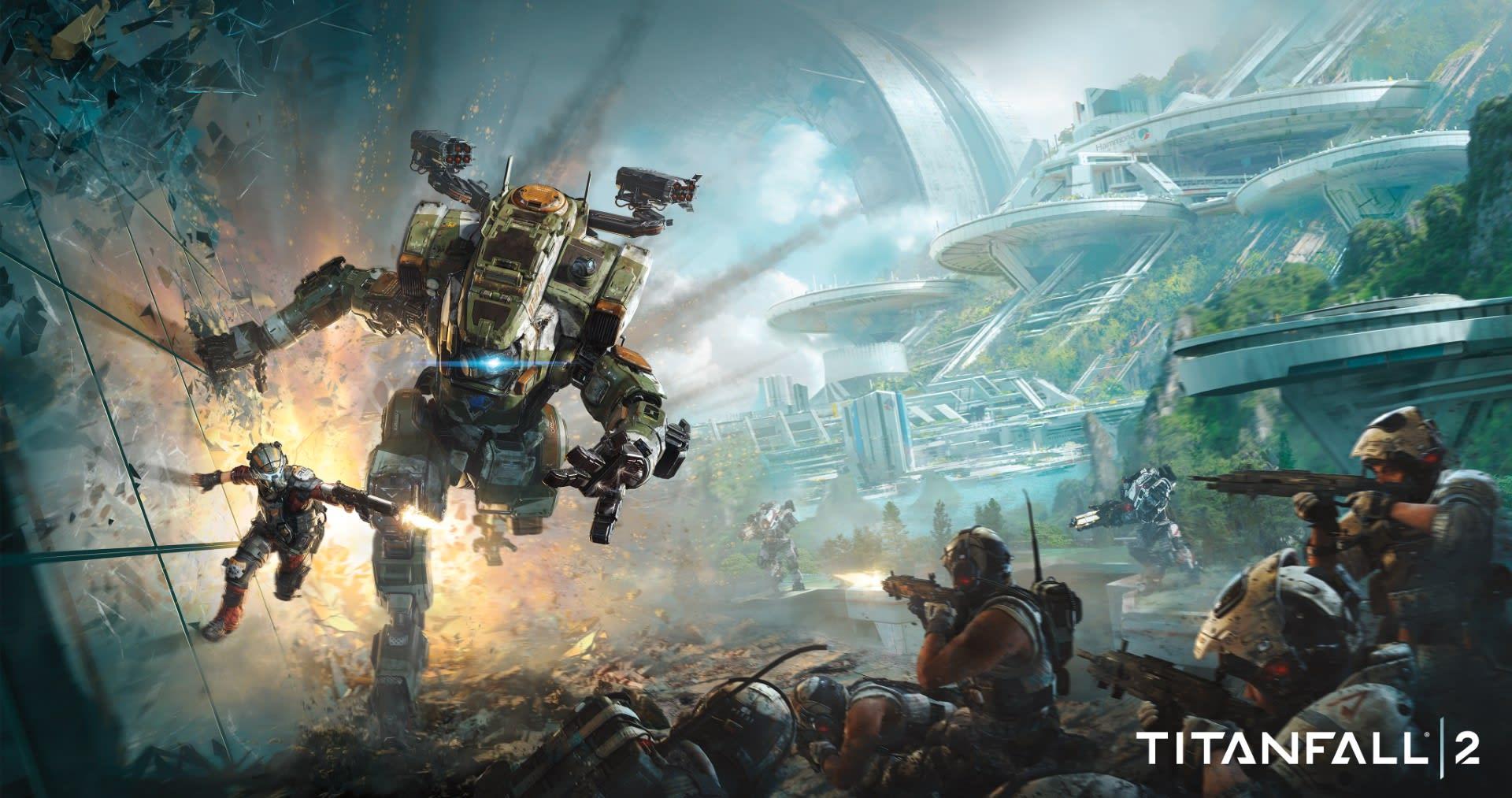 《Titanfall 2 / 泰坦天降2 / 泰坦降臨2》 游戏心得