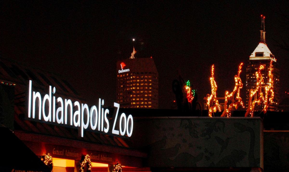 Christmas at the Zoo. Indianapolis ...