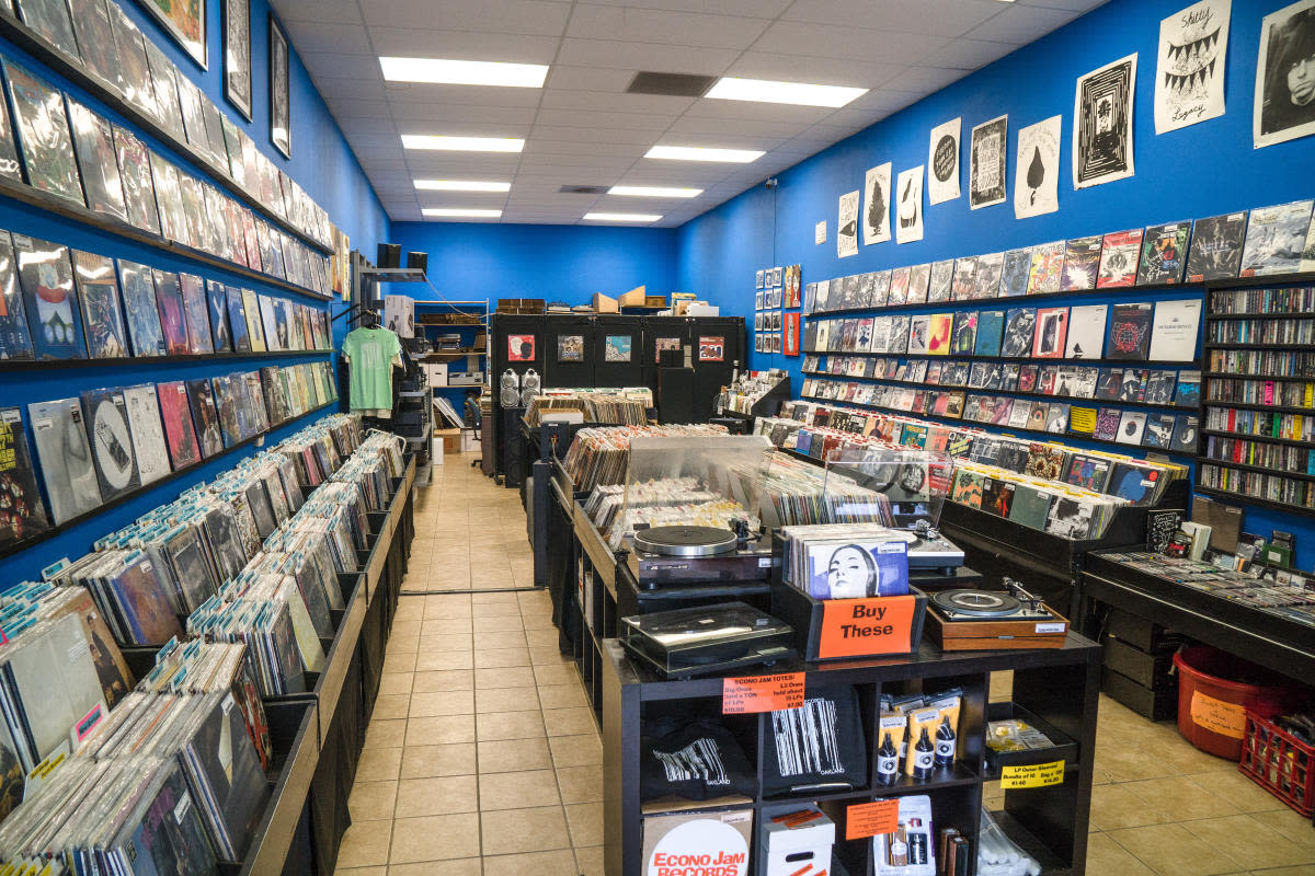 Best Record Stores in The East Bay