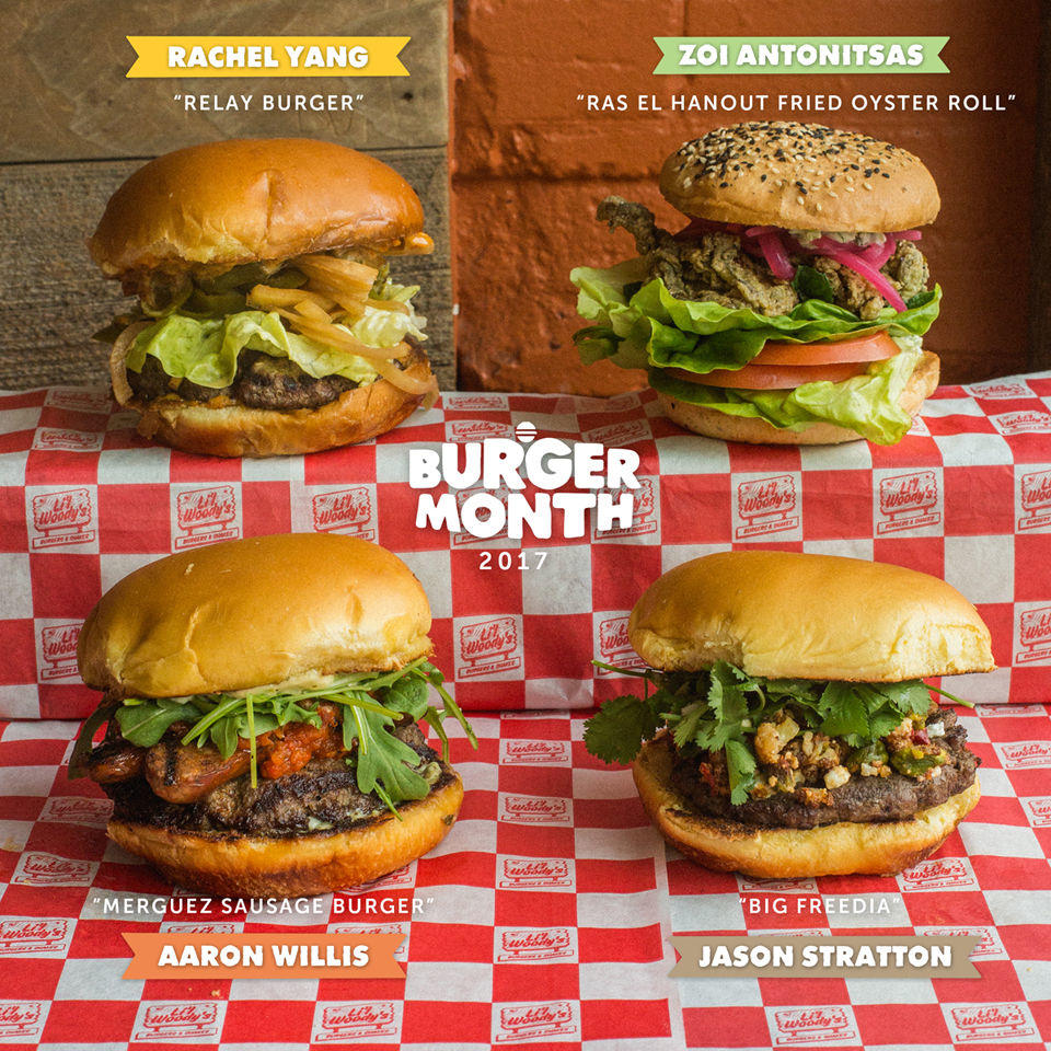 Lil Woody's Burger Month