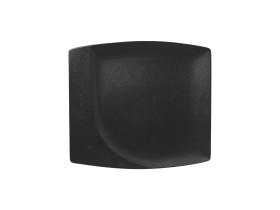 Neliölautanen musta 32x29 cm Käytetty