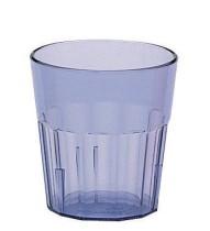 Juomalasi pinottava muovi sininen 28 cl
