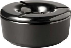 Tuhkakuppi melamiini musta K 5 cm Ø 11 cm