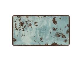 Lautanen suorakaide sininen 33,5x18 cm