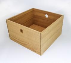 Puulaatikko 38x38x22 cm