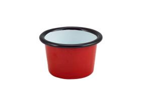 Dippikulho emaloitu punainen Ø 7 cm 9 cl