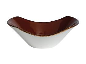 Kulho tummanruskea Ø 16,5 cm