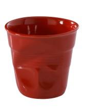 Cappuccinokuppi punainen 18 cl