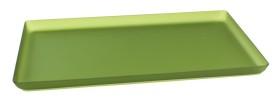 Lasikkotarjotin vihreä matta 21x40 cm
