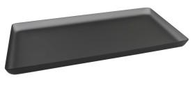 Lasikkotarjotin harmaa matta 21x40 cm