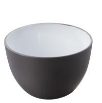 Kulho musta/valkoinen K 8,2 cm Ø 13 cm 55 cl
