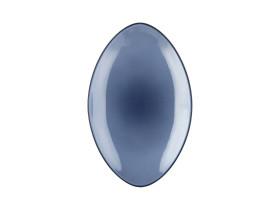 Lautanen soikea sininen Ø 35 cm