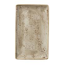 Lautanen suorakaide beige 27x16,7 cm