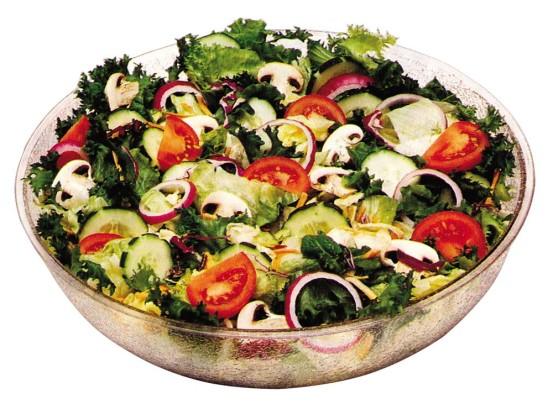 Salaattikulho kirkas 19,1 L