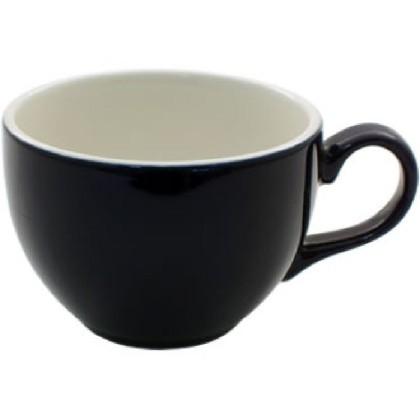 Cappuccinokuppi musta 23 cl