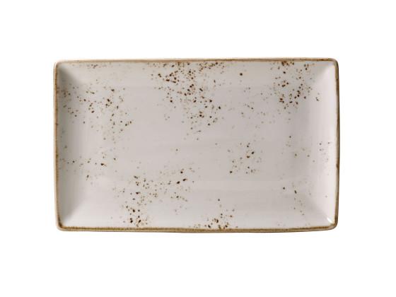 Lautanen suorakaide valkoinen 27x16,75 cm