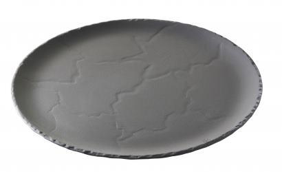 Lautanen musta Ø 26 cm