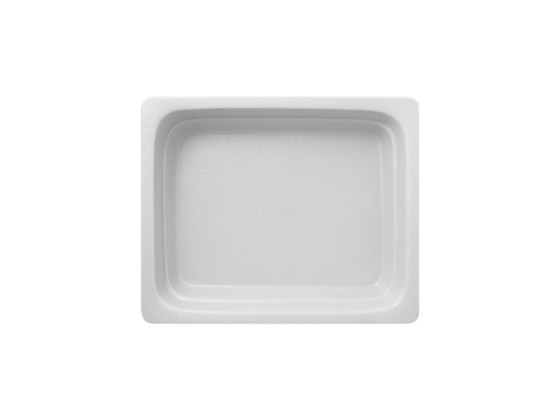 GN-vati 1/2 valkoinen 32,5x26,5x6,5 cm