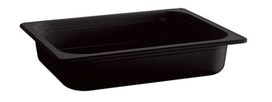 Vati melamiini musta GN 1/1-100 10,6 L