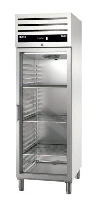Kylmäkaappi lasiovella Dieta Green C700G