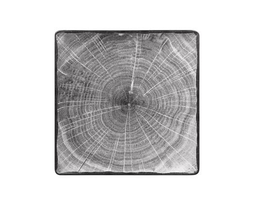 Neliölautanen tummanharmaa 30x30 cm