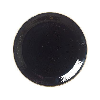 Lautanen musta Ø 25,2 cm