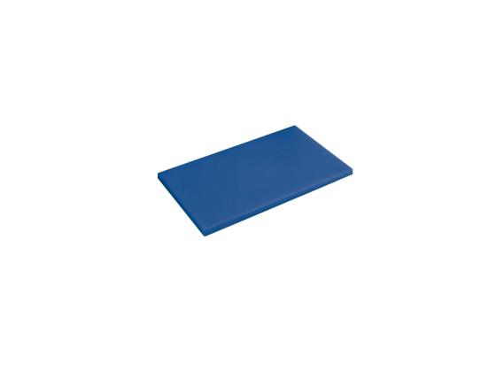Leikkuulauta sininen muovi 60x40x2 cm