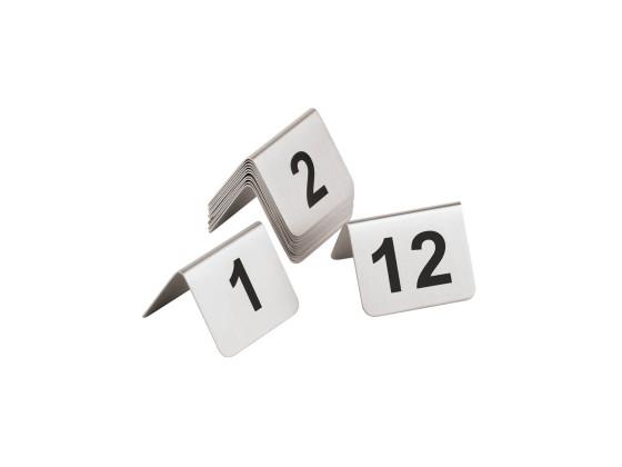 Pöytänumero 1-12 rst