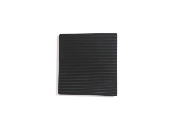 Paistoalusta, alumiini + teflon, musta