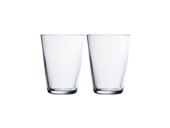 Juomalasi kirkas 2kpl/pkt 40 cl