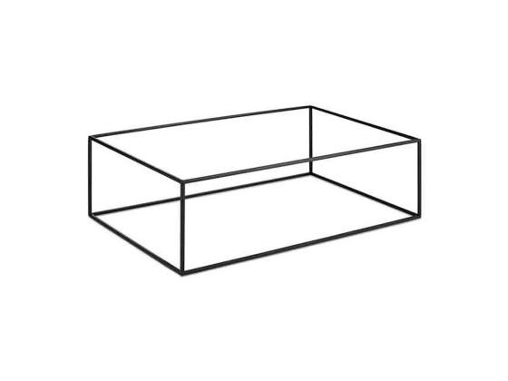 Kulhoteline musta 53x32,5x16,2 cm